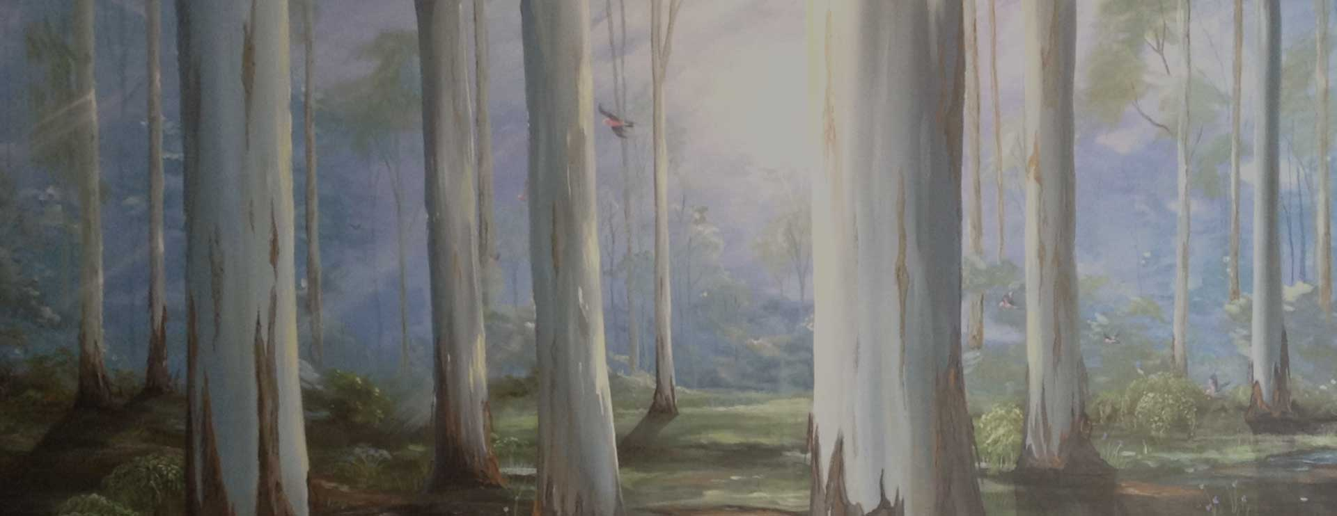 Art Studio Arts trail Patricia Smart Spinebill Studio Blue mountains artist painting Australian artist BMCAN