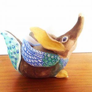 Art Studio Patricia Smart Spinebill Studio Blue mountains artist painting Australian artist BMCAN Trish Smart ceramics sculpture