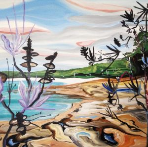 Art Studio Arts trail Patricia Smart Spinebill Studio Blue mountains artist painting Australian artist BMCAN Booderee Jervis Bay