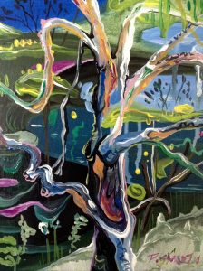 Art Studio Arts trail Patricia Smart Spinebill Studio Blue mountains artist painting Australian artist BMCAN