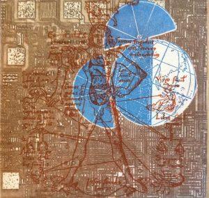 Art Studio Patricia Smart Spinebill Studio Blue mountains artist painting Australian artist BMCAN Trish Smart Printmaking