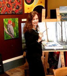 Art Studio Arts trail Patricia Smart Spinebill Studio Blue mountains airbnb