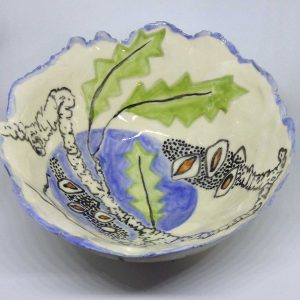 Art Studio Patricia Smart Spinebill Studio Blue mountains artist painting Australian artist BMCAN Trish Smart ceramics sculpture