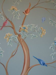 Art Studio Patricia Smart Spinebill Studio Blue mountains artist painting Australian artist BMCAN Trish Smart Painting