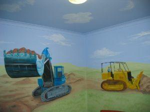 Art Studio Becsmart Murals Mural kids art Childrens room interior decorating nursery baby's room rooms pre school early childhood school murals Patricia Smart Spinebill Studio Blue mountains artist painting Australian artist BMCAN