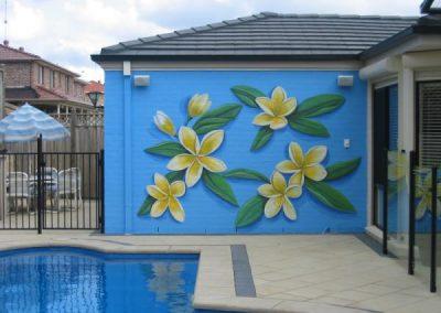Frangipanni Mural