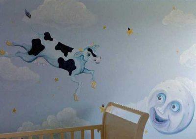 nursery rhyme Mural Becsmart Murals