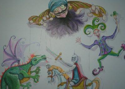 puppet Mural Becsmart Murals