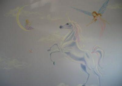 unicorn Mural Becsmart Murals